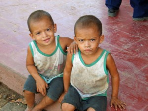 Hungry Children in Nicaragua