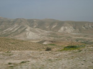 John the Baptizer's Desert Region
