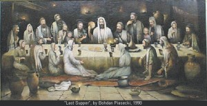 Guess who came to the Last SUpper?