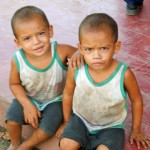 Twin Brothers in Nicaragua