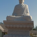 Seated Buddha at White Sands Buddhist Center, Mims, FL