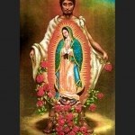 Juan Diego and the Imprint the Virgin Left