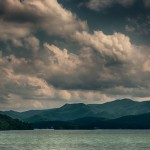 Darkness  Storm Clouds over Lake Chatuge