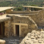 Palace at Knossos, Crete Lair of the Minotaur c. J.P. Mahon